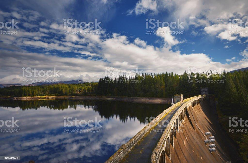 Laggan Dam, schottischen Highlands, Schottland – Foto