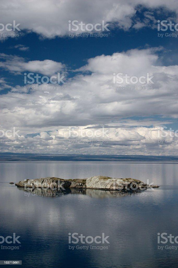 Lago Buenos Aires (Argentina) stock photo