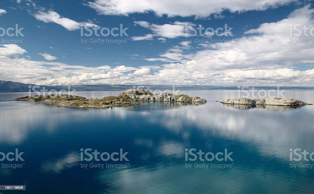 Lago Buenos Aires stock photo