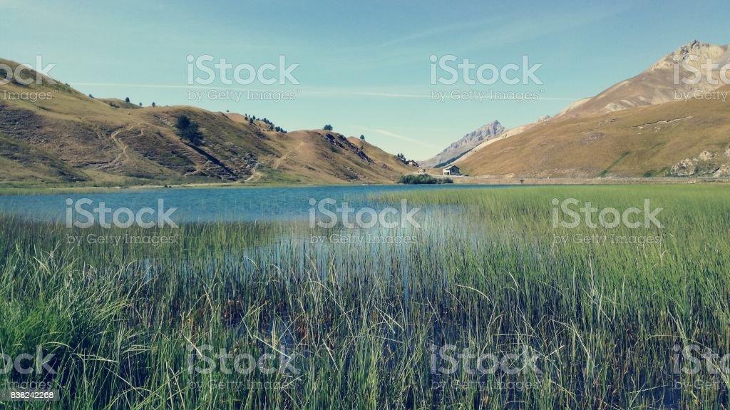 Lago della Maddalena stock photo