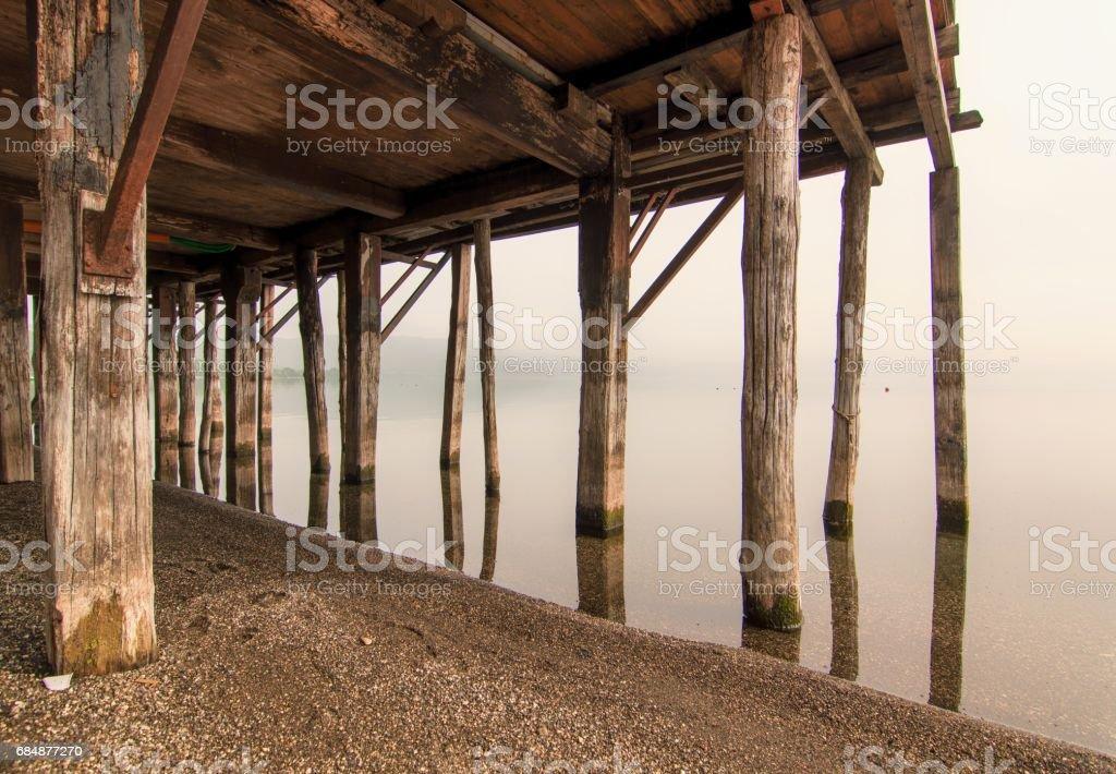 Lago di Bracciano, Lazio Lizenzfreies stock-foto
