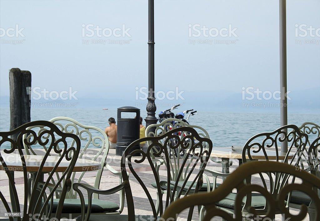 Lago di Garda royalty-free stock photo