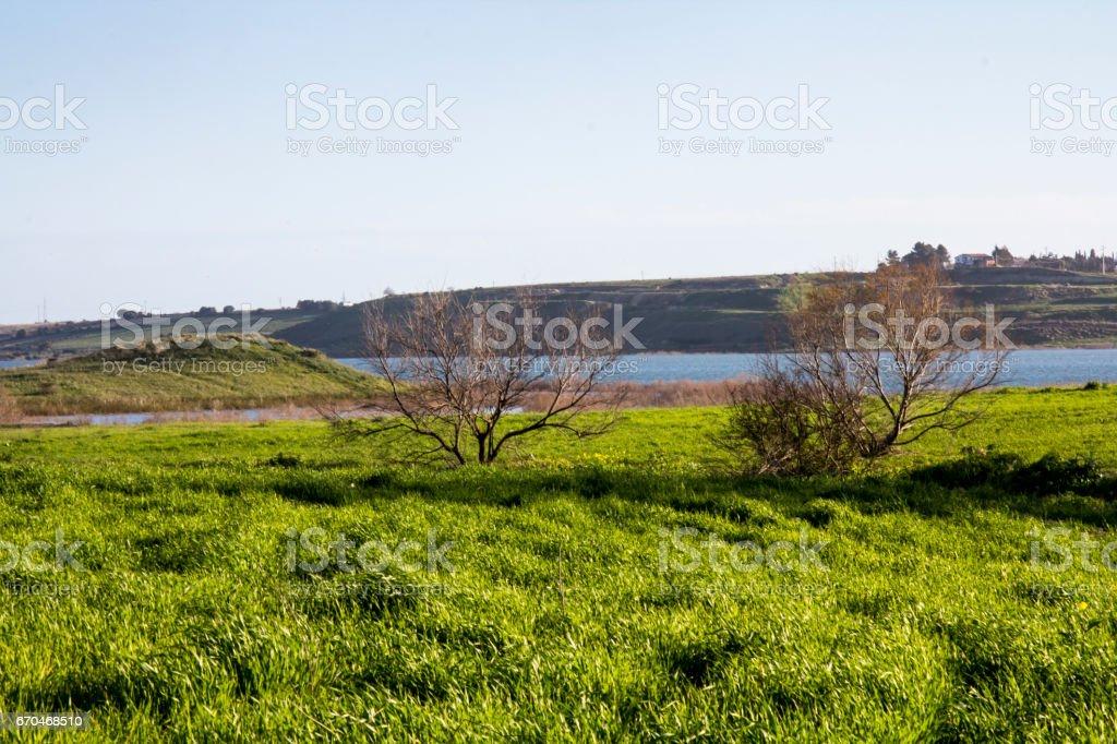 Lago di Simbiritzi stock photo