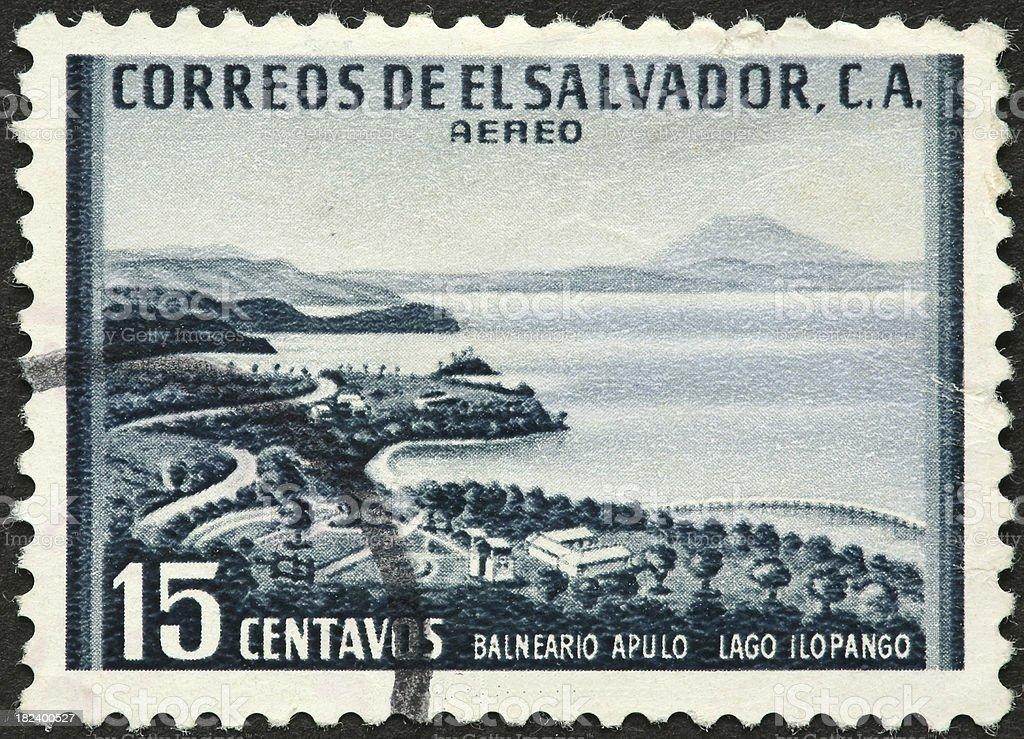 Lago Ilopango, El Salvador royalty-free stock photo
