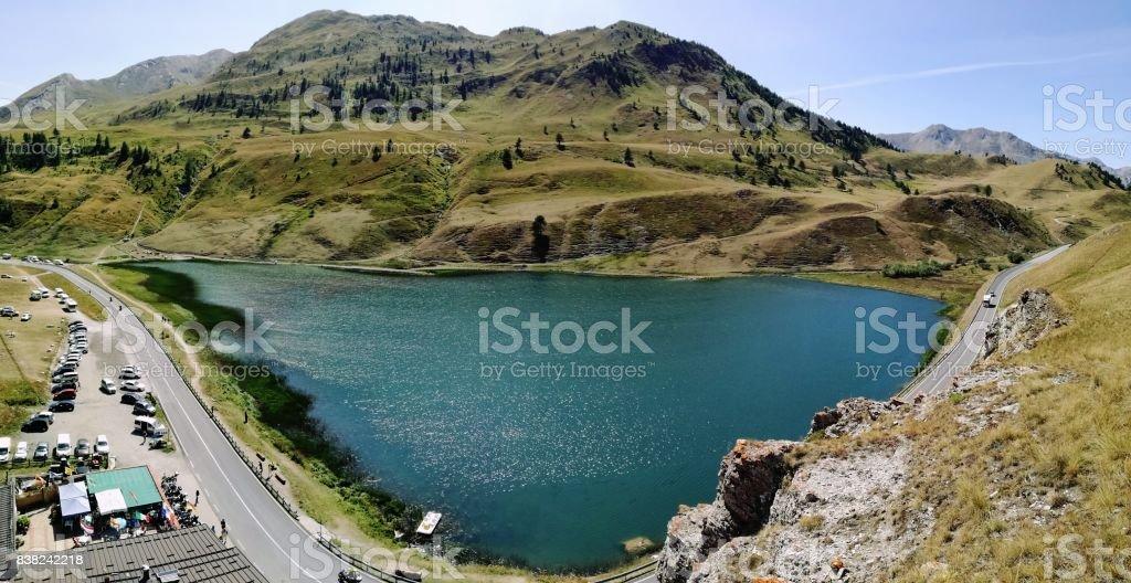 Lago Maddalena stock photo