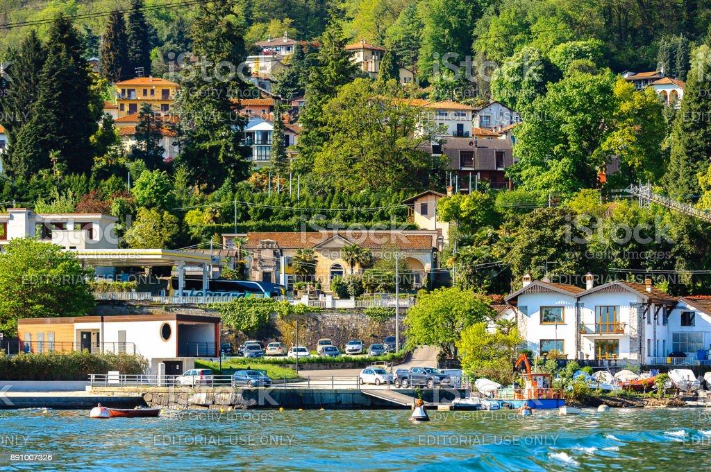 Lago Maggiore, Italy stock photo