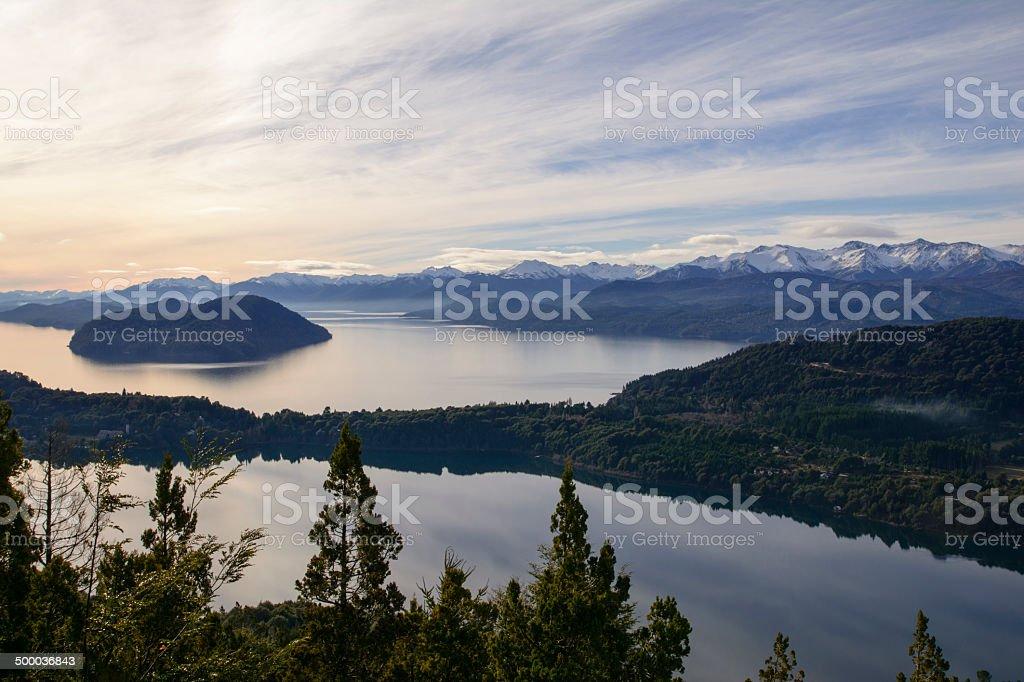 Lago Nahuel Huapi royalty-free stock photo