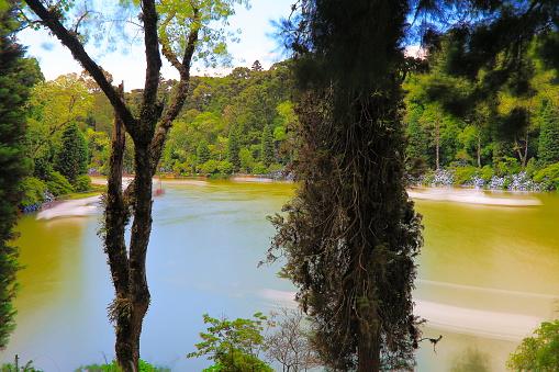 Lago Negro (Black Lake) blurred from long exposure  - Gramado, Rio Grande do Sul, Brazil