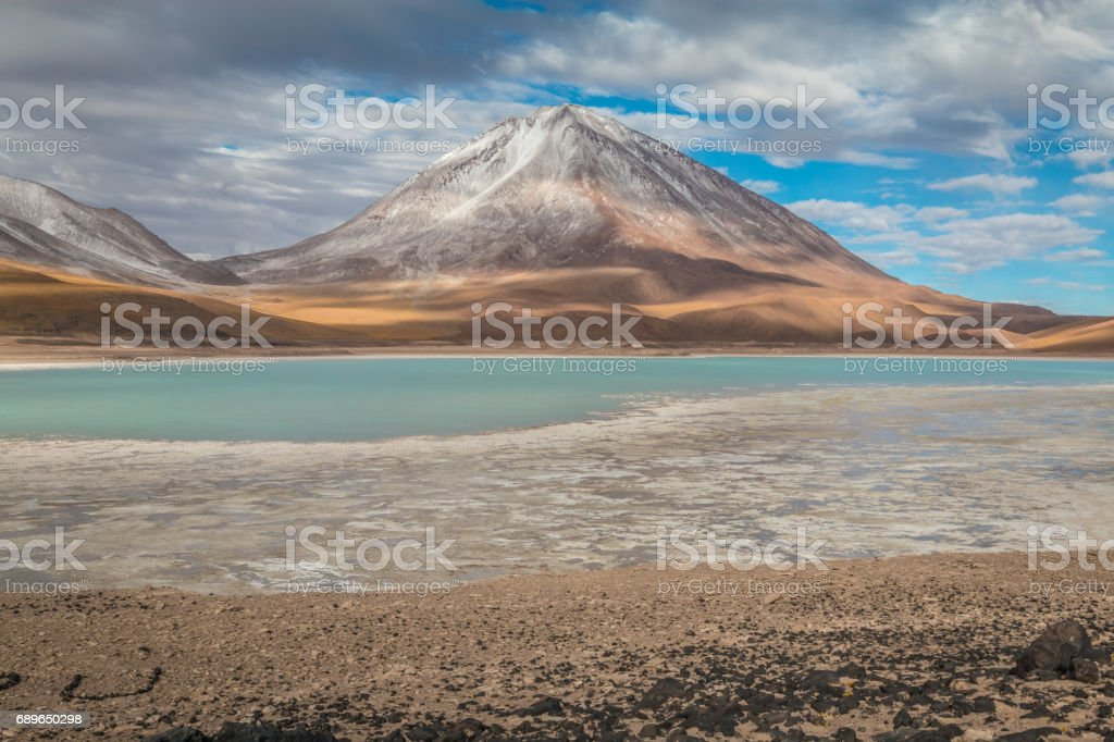 Lago Verde stock photo