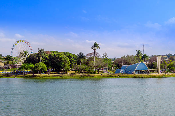 lagoa da pampulha - laguna foto e immagini stock