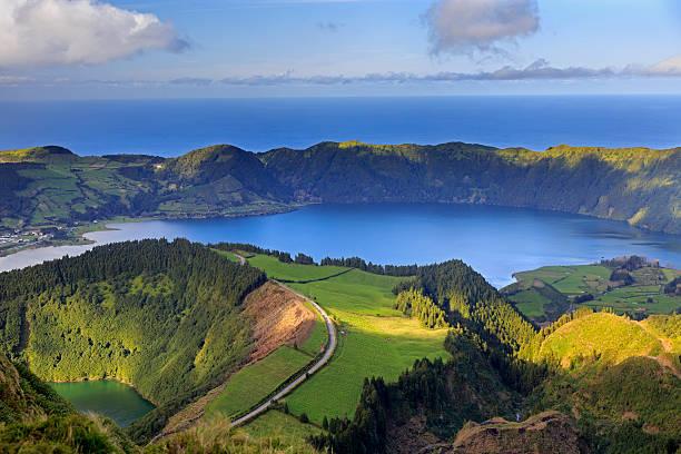 See Lagoa de Santiago und Lagoa Azul auf San Miguel Insel – Foto
