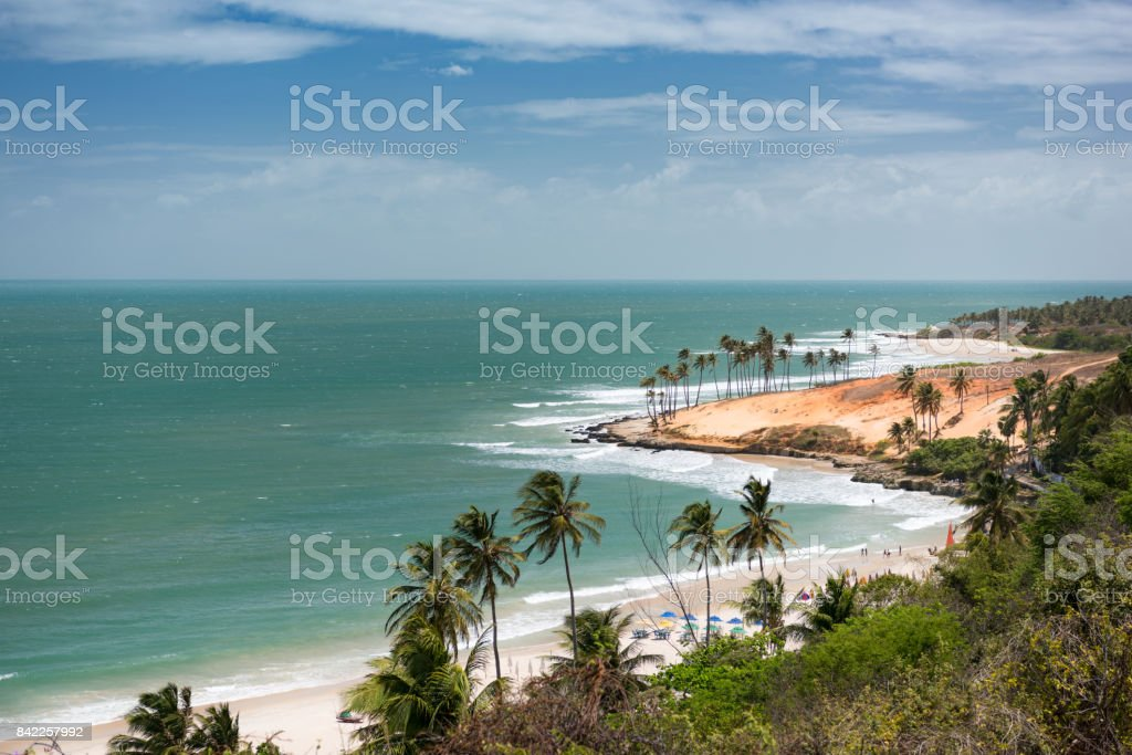 Lagoinha Beach, Brazil stock photo