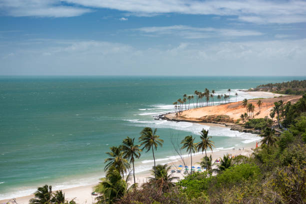 Lagoinha Beach, Brazil stock photo