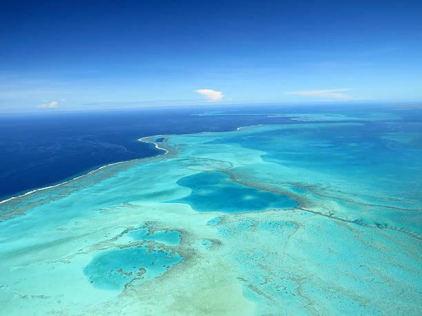 Lagon Nord de la Nouvelle Calédonie - foto stock