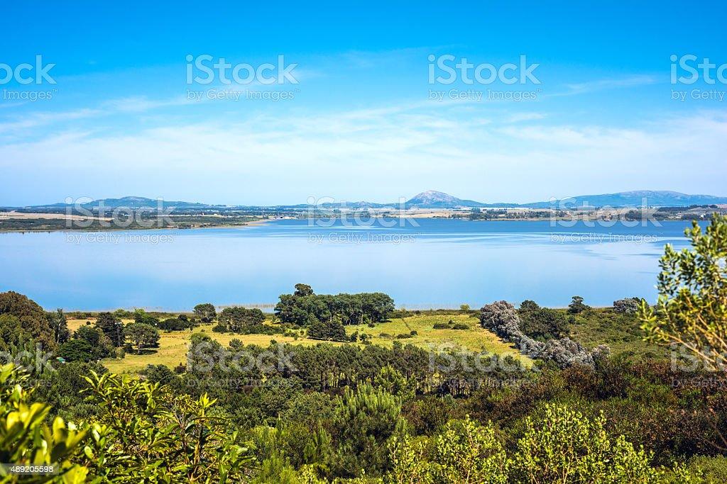 Lagoon of the Willow (Laguna del Sauce), Maldonado, Uruguay stock photo