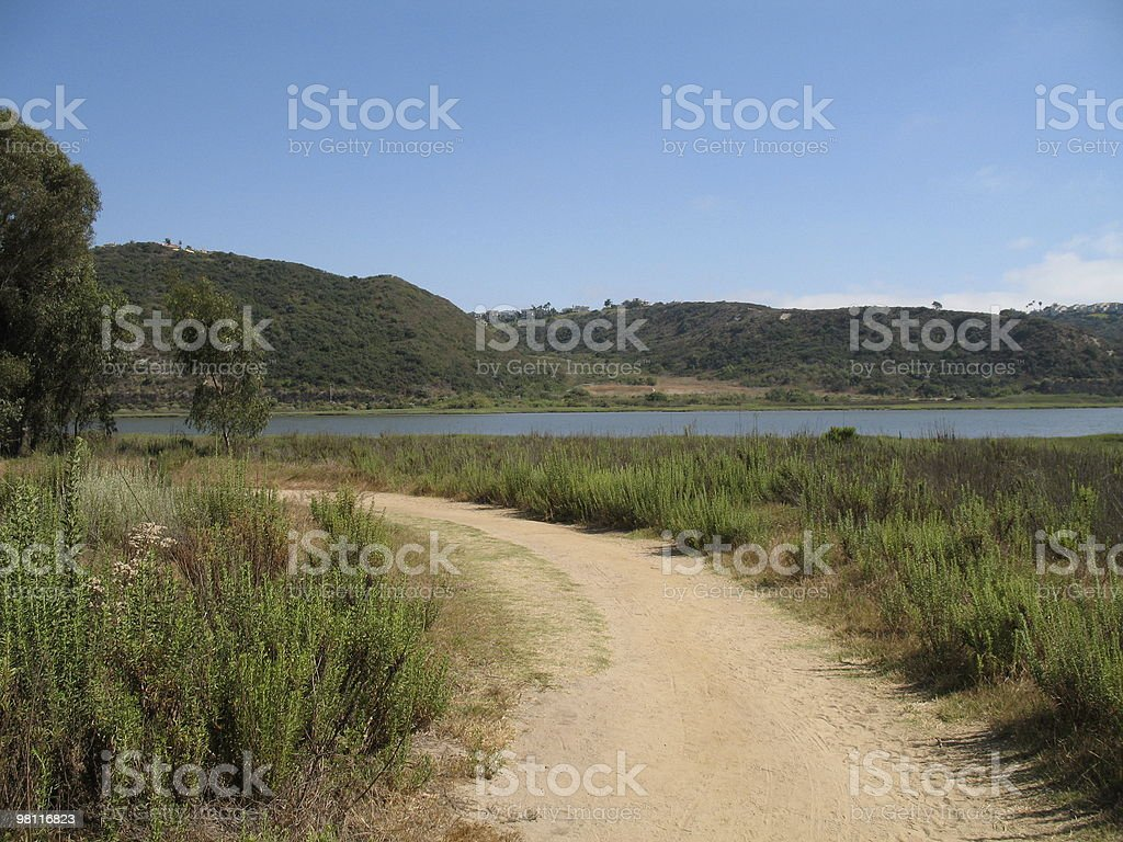 Lagoon Trail royalty-free stock photo