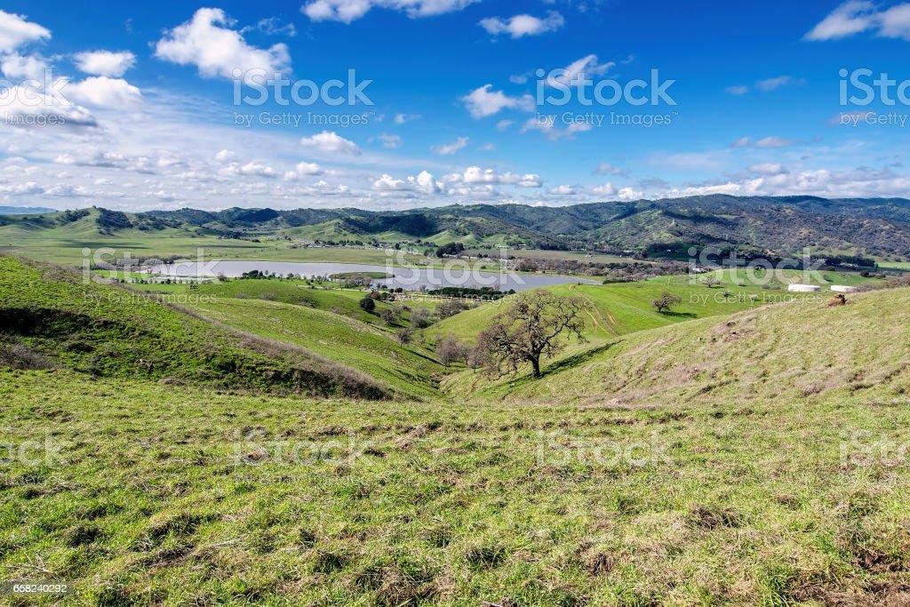 Lagoon Valley Park stock photo