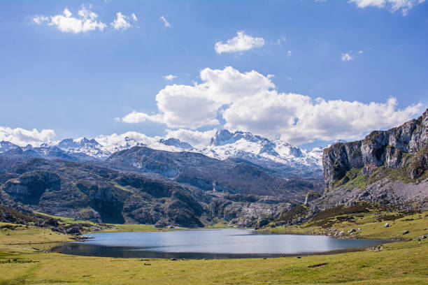 Lagos de Covadonga stock photo
