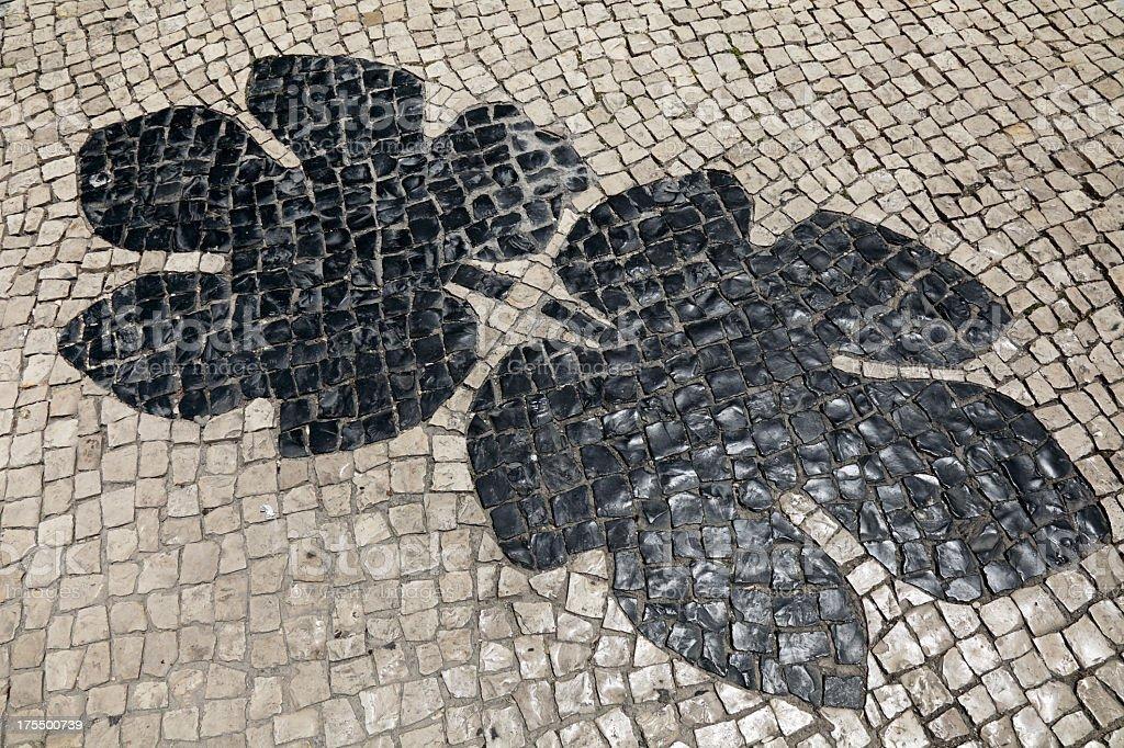 Lagos pavement royalty-free stock photo