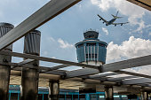 Stock photo of Laguardia Airport in New York