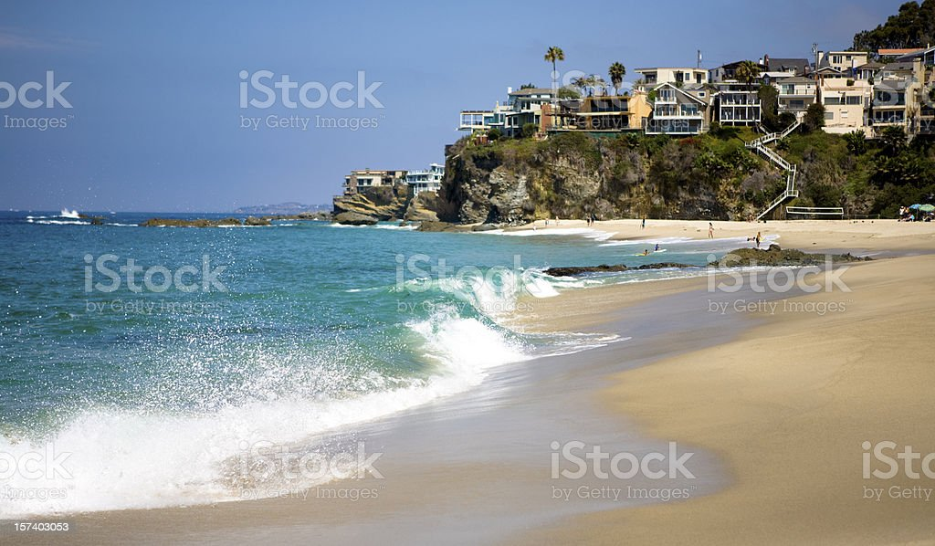 Laguna Beach - California stock photo