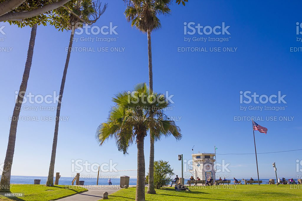 Laguna Beach California royalty-free stock photo