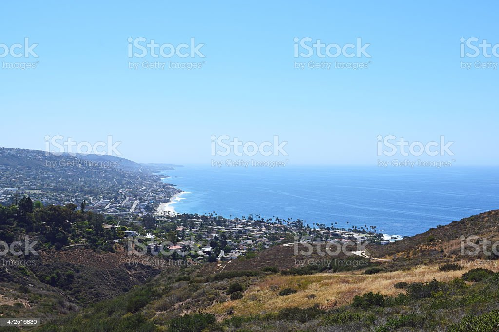 Laguna Beach Hiking Trails stock photo