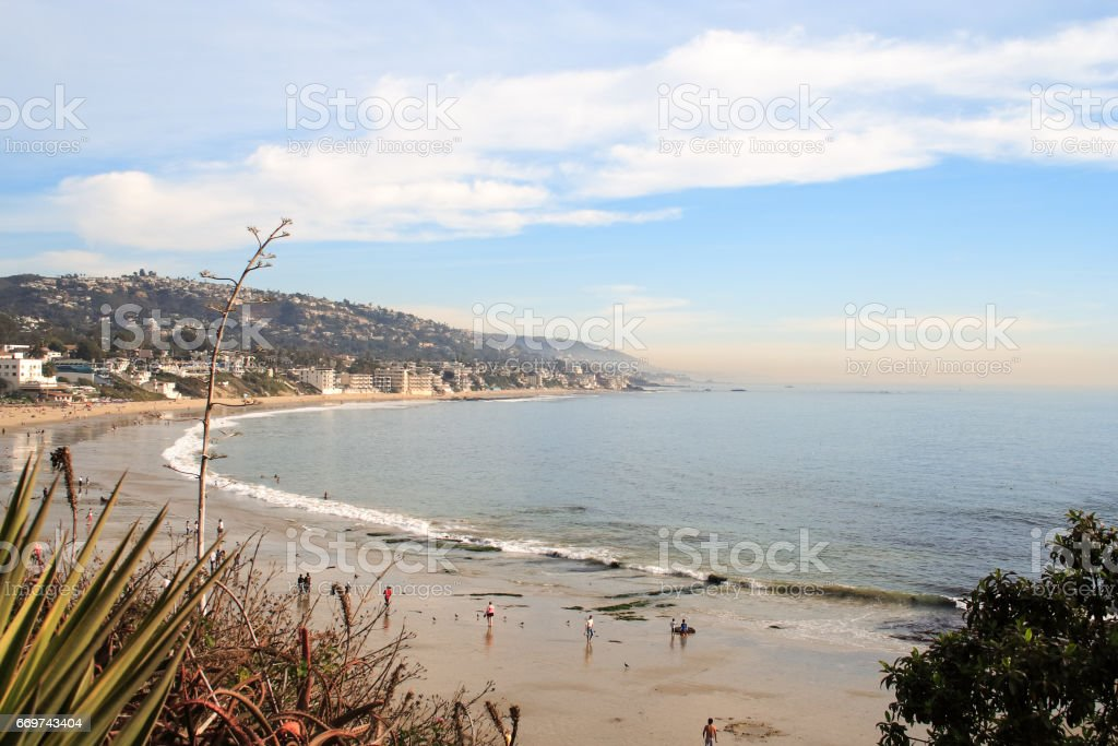 Laguna beach, Laguna California stock photo