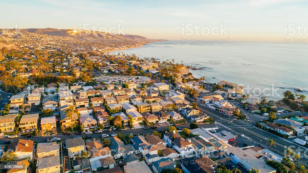 Laguna Beach, Orange County (Southern California) stock photo