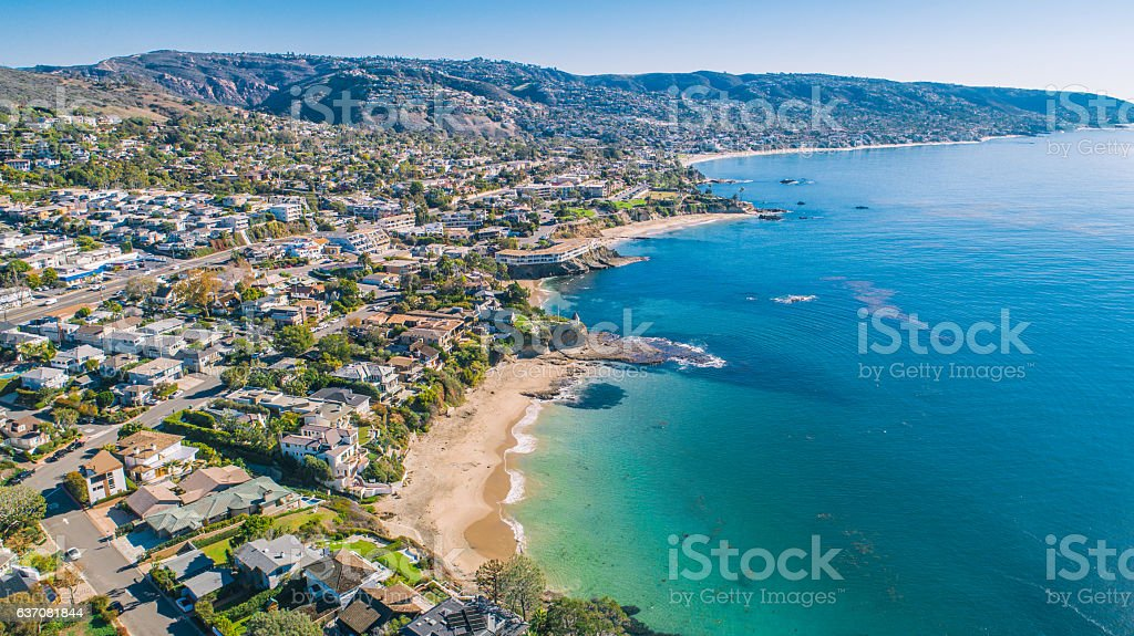 Laguna Beach, Orange County (Southern California) - foto de stock