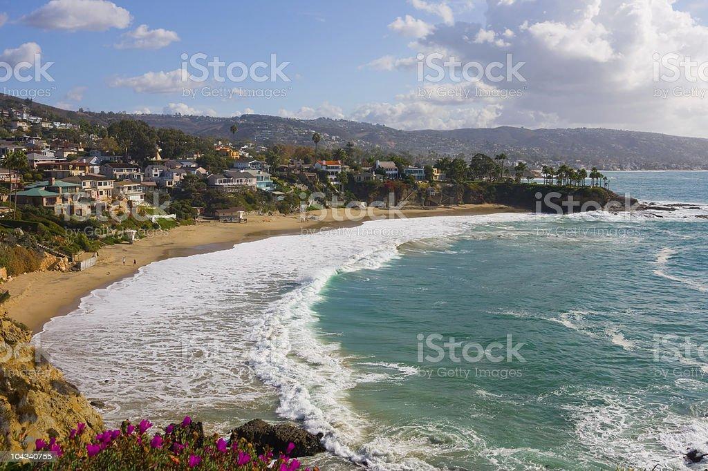 Laguna Beach royalty-free stock photo