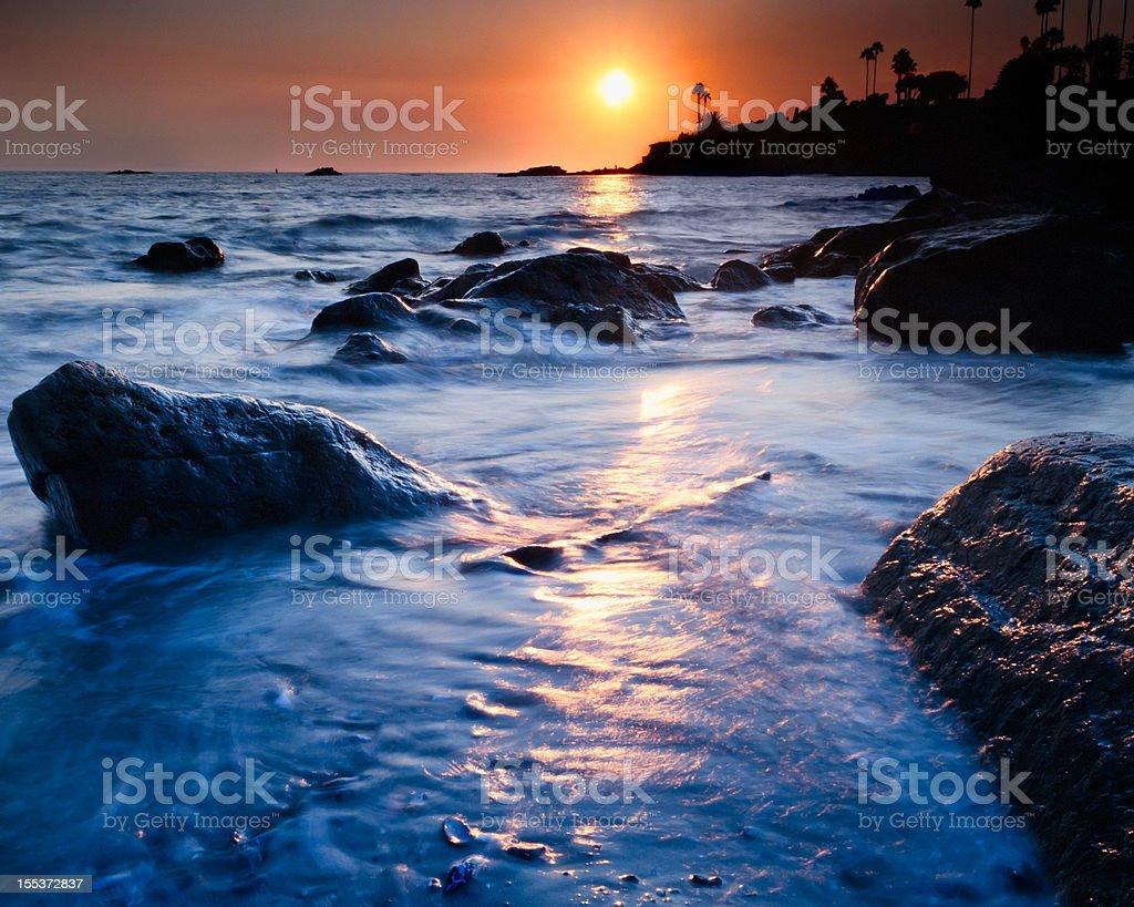 Laguna Beach Southern California royalty-free stock photo