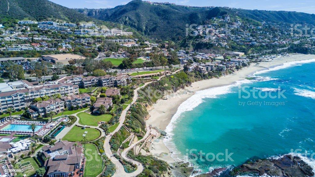 Laguna Beach, Southern California stock photo