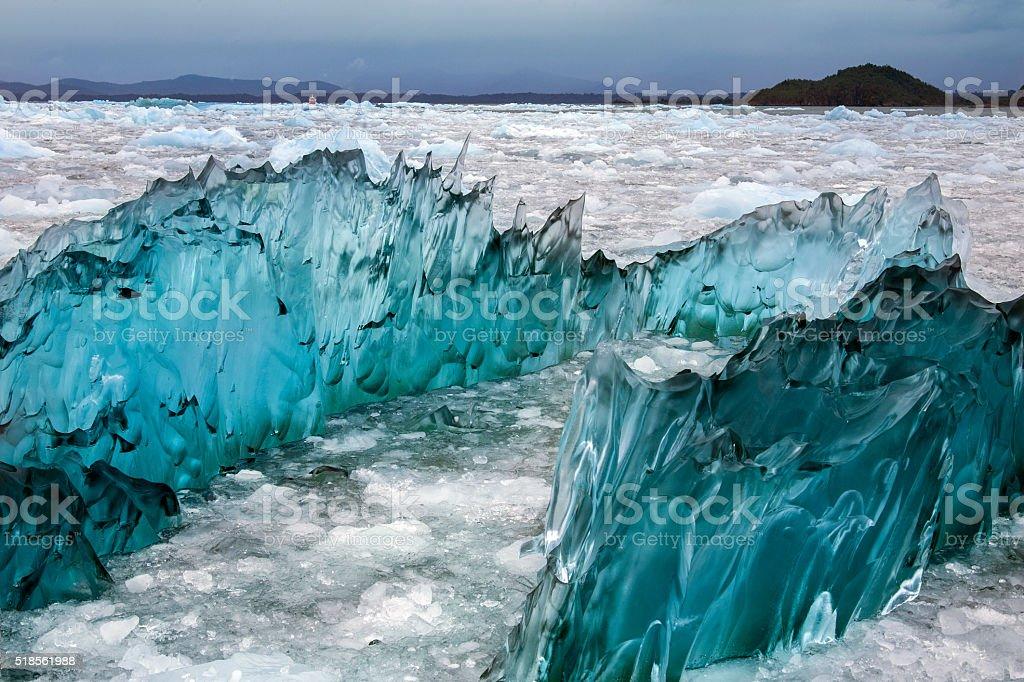 Laguna San Rafael - Patagonia - Chile stock photo