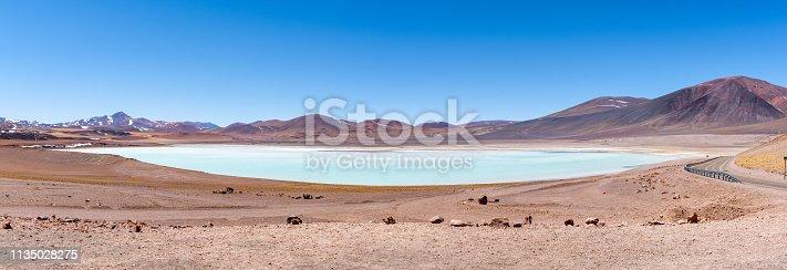 istock Laguna Tuyajto - San Pedro de Atacama, Antofagasta Region, Chile 1135028275