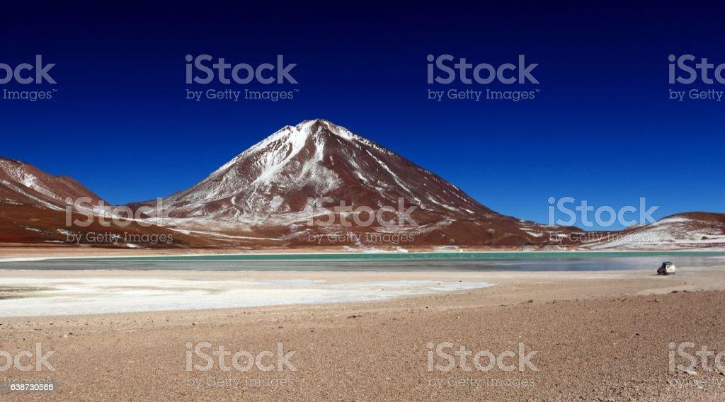 Laguna Verde stock photo