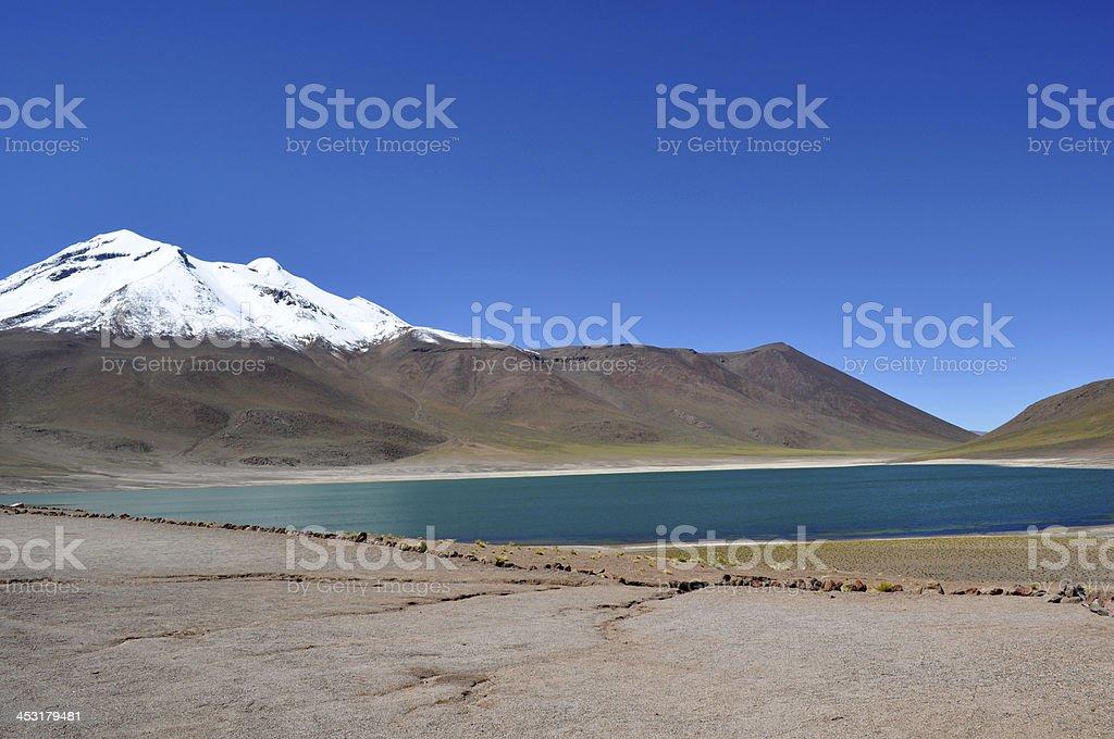 Lagunas Altiplânicas stock photo