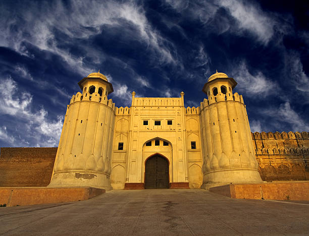 Lahore Fort Mughal emperor Fort, the one of national and international Landmark of Lahore, Pakistan. lahore pakistan stock pictures, royalty-free photos & images