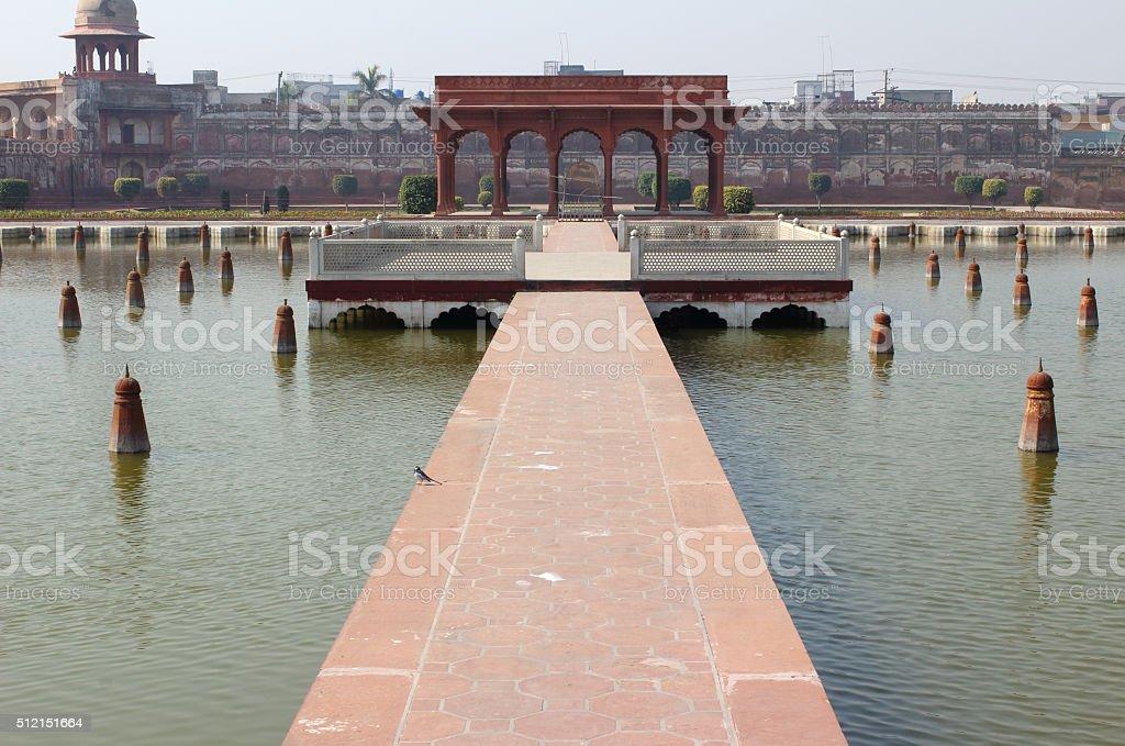 Lahore Shalimar Gardens stock photo