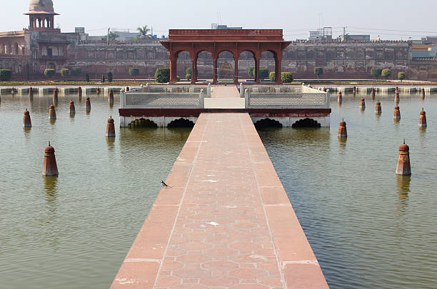 Lahore Shalimar Gardens stock photo