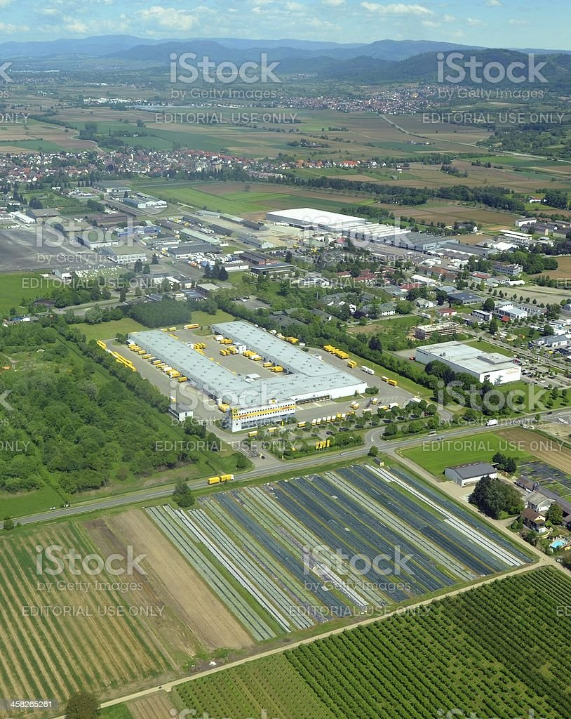 Lahr Business Park royalty-free stock photo