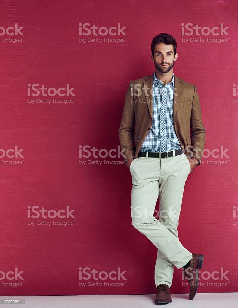 Laid back charm and style stock photo
