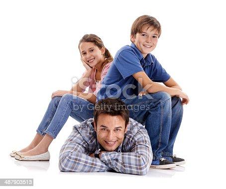 585604690 istock photo Laid-back parenting? Nah! 487903513