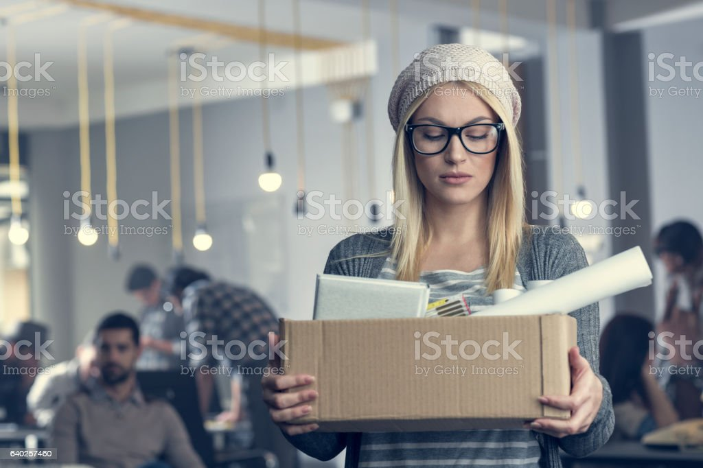 Laid-off stock photo