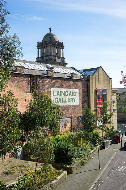 Laing Art Gallery - Newcastle stock photo