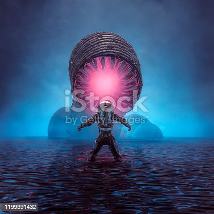 istock Lair of the monster 1199391432