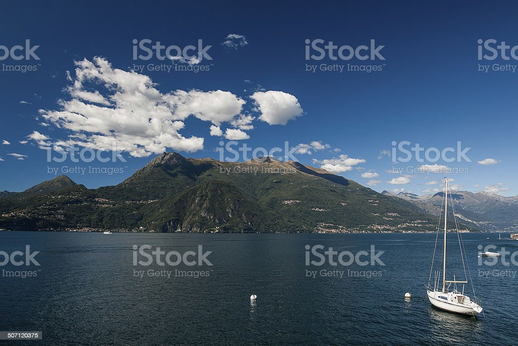 Lake and mountain - Royalty-free Backgrounds Stock Photo