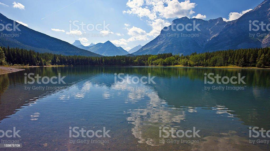 See und die Berge – Foto
