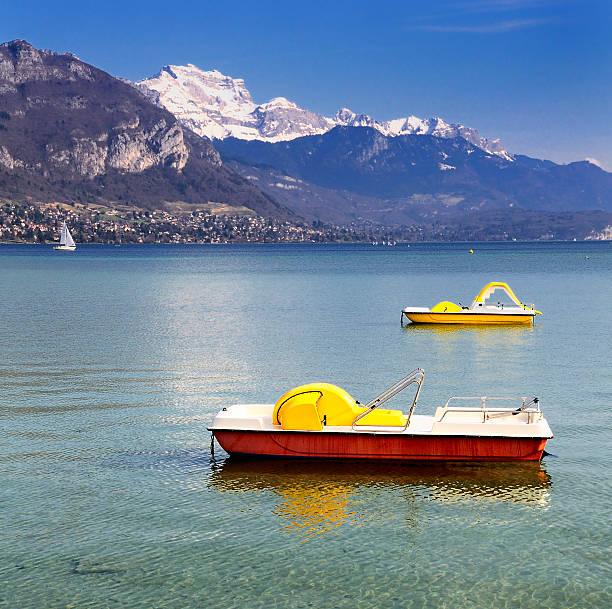 Lago Annecy - foto de stock