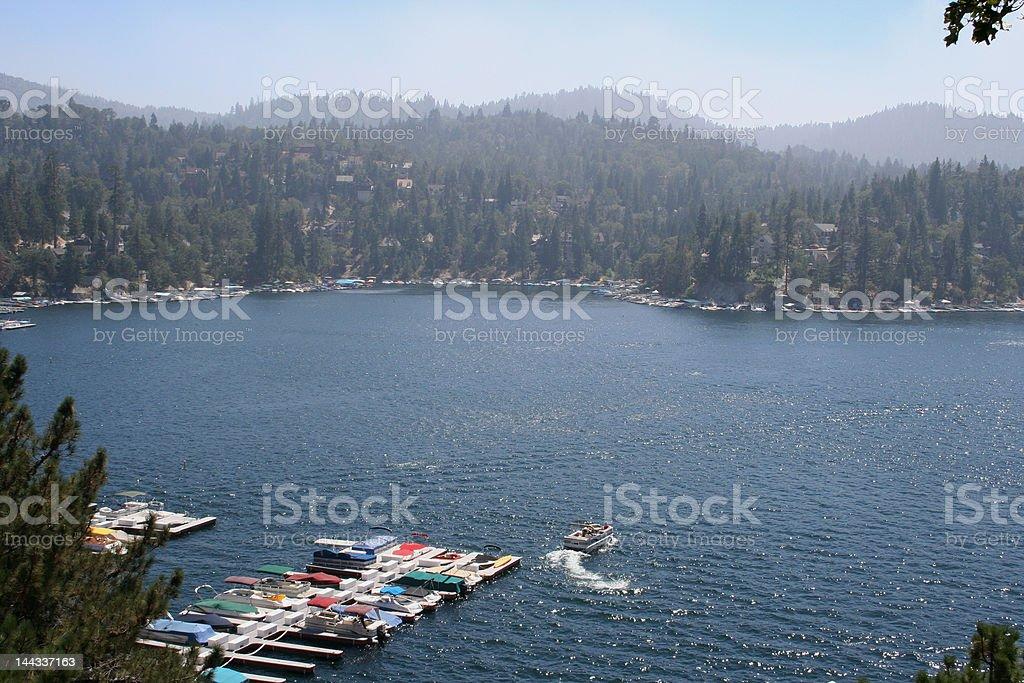 Lake Arrowhead royalty-free stock photo